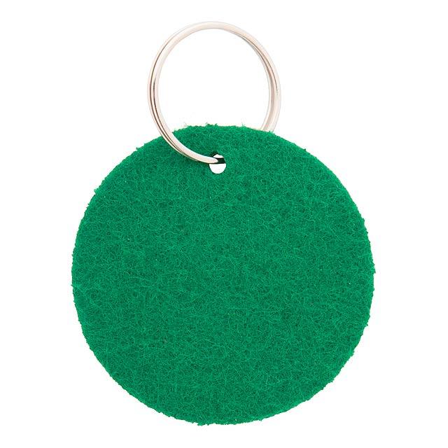 Nicles přívěšek na klíče - zelená