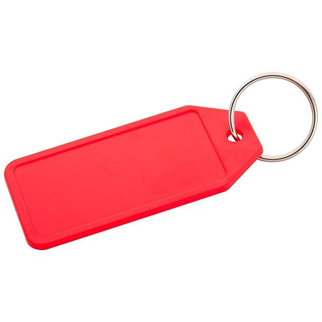 Plopp přívěšek na klíče - červená