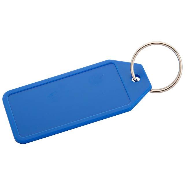 Plopp přívěšek na klíče - modrá