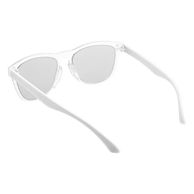 CreaSun - customisable sunglasses - temples - white