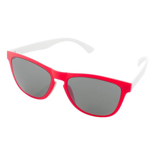 CreaSun sluneční brýle na zakázku - červená