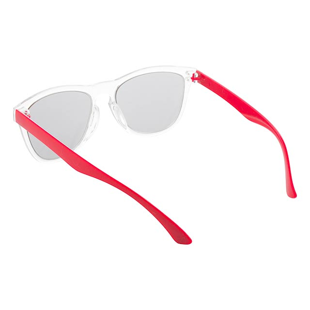 CreaSun - customisable sunglasses - temples - red
