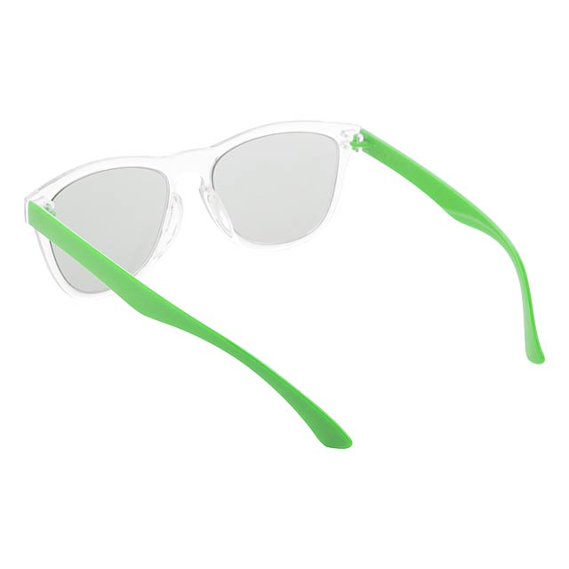 CreaSun - customisable sunglasses - temples - green