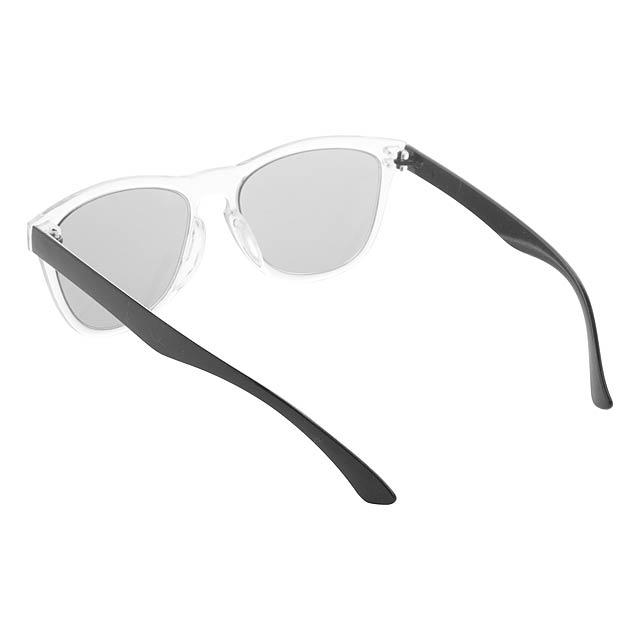CreaSun - customisable sunglasses - temples - black