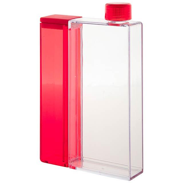 Flisk láhev na vodu - červená