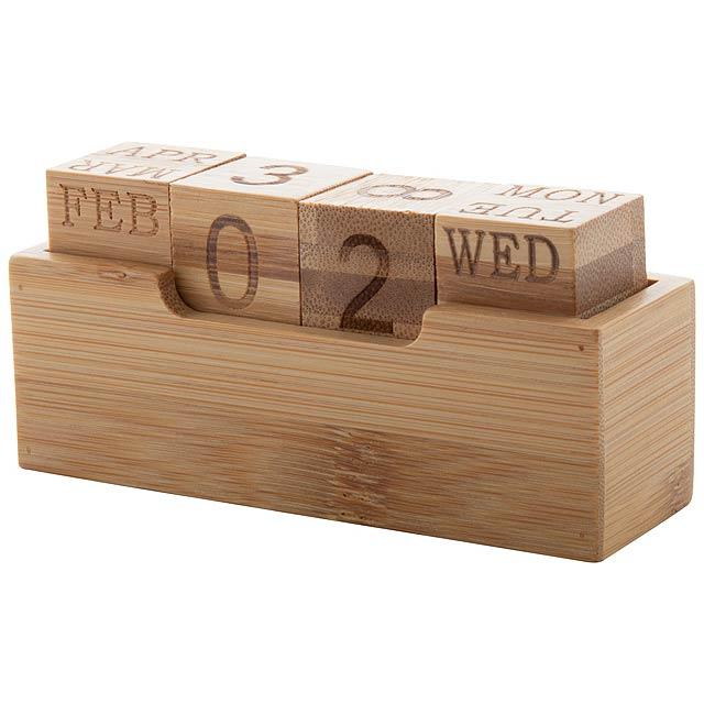 Rolbus věčný kalendář - dřevo
