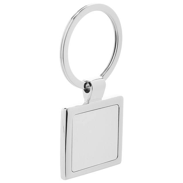 Dice přívěšek na klíče - stříbrná