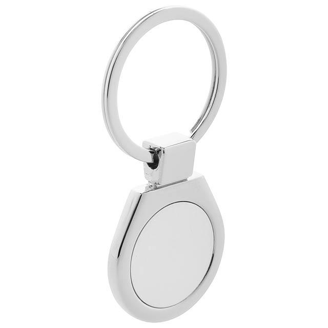 Ball přívěšek na klíče - stříbrná