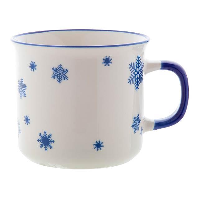 Nakkala retro vánoční hrnek - modrá