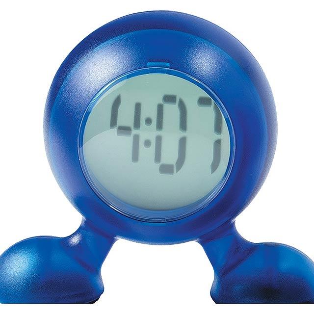Zeittischuhr - blau