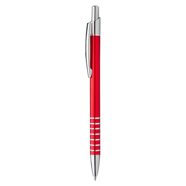 Vesta kuličkové pero - červená