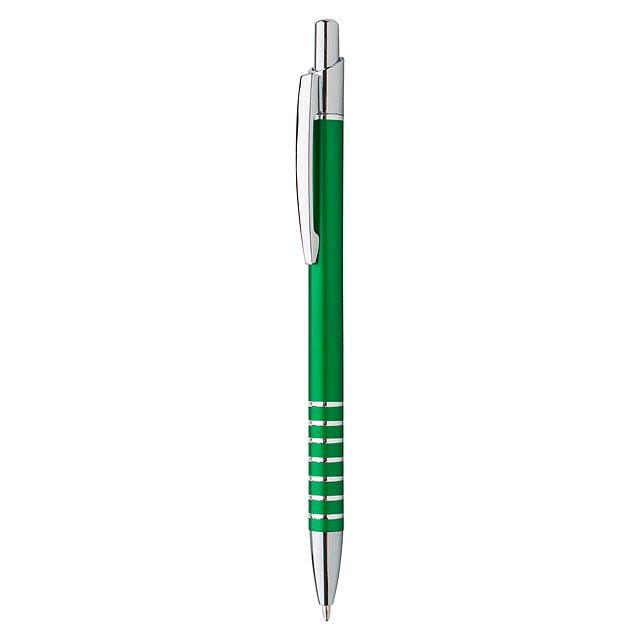 Vesta kuličkové pero - zelená