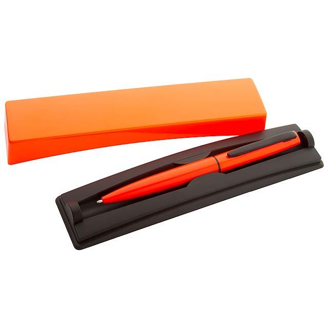 Rossi kuličkové pero - oranžová