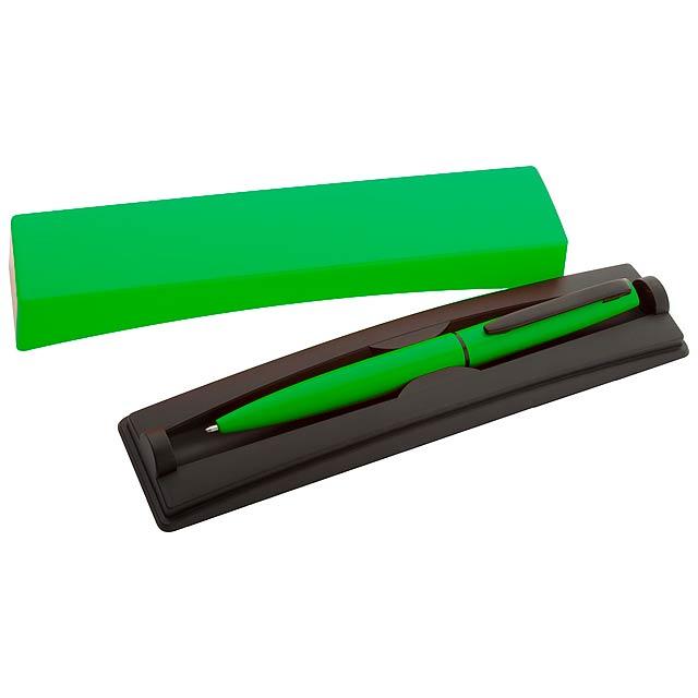 Rossi kuličkové pero - zelená