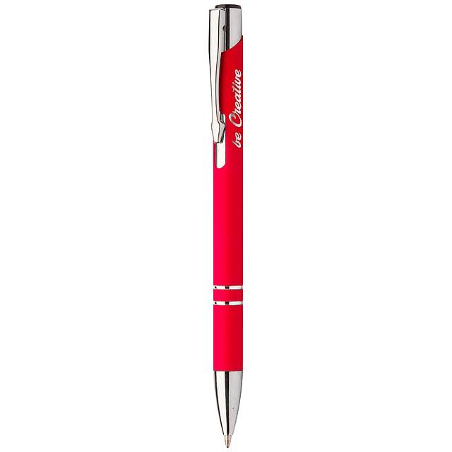 Runnel kuličkové pero - červená