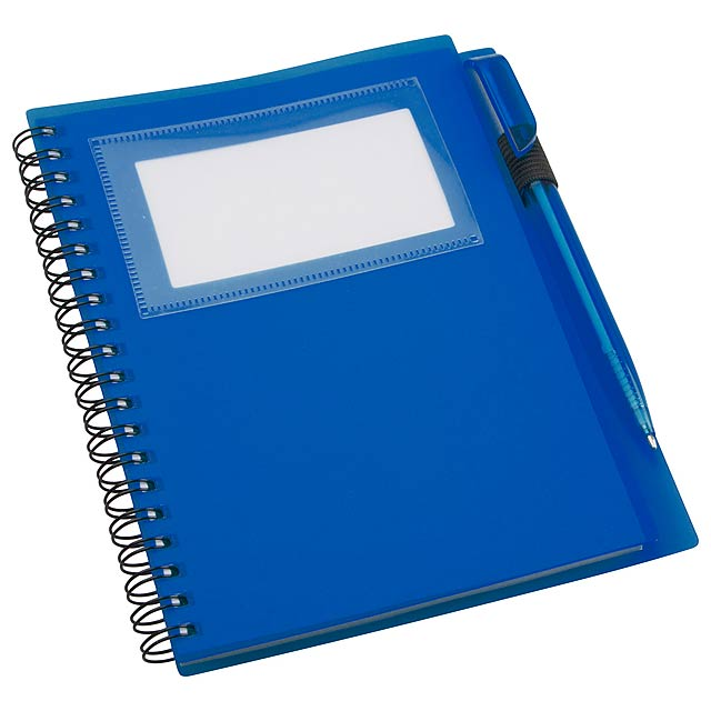Tagged poznámkový blok - modrá