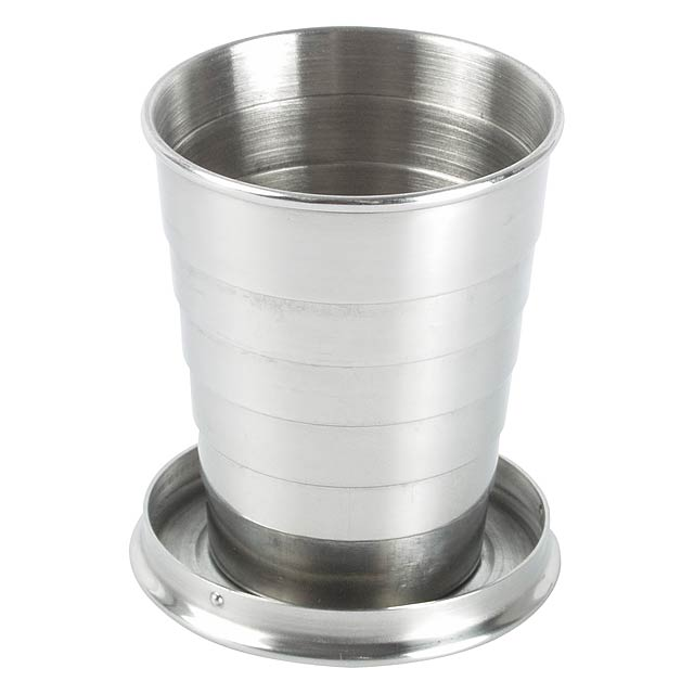 Nautilus skládací pohárek - stříbrná