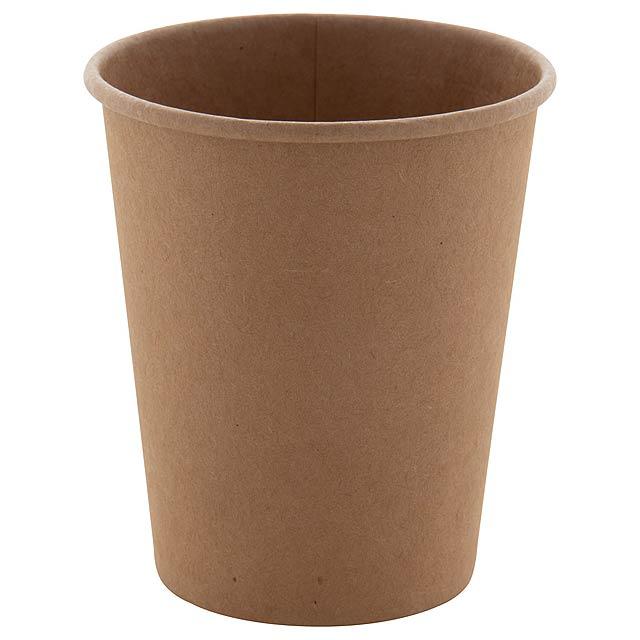 Papcap M papírový kelímek, 240 ml - béžová