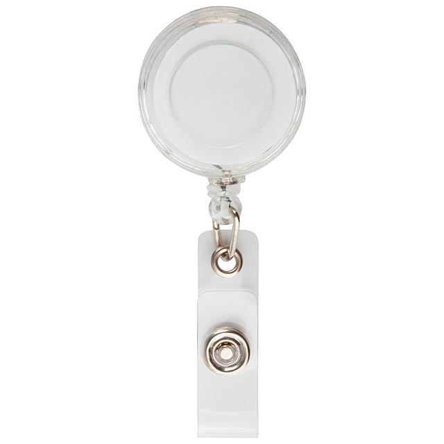 Slope držák na karty - transparentní bílá
