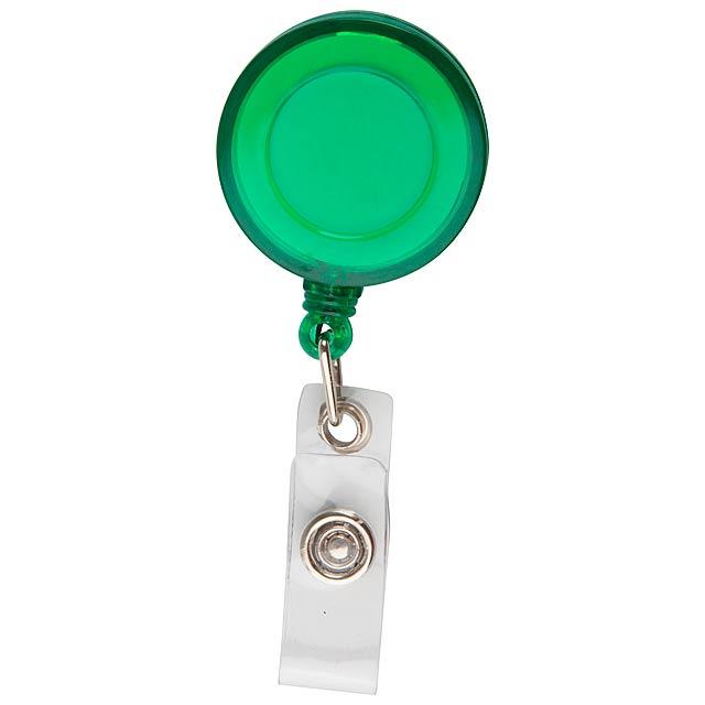 Slope držák na karty - zelená