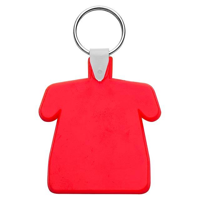 Polo přívěšek na klíče - červená