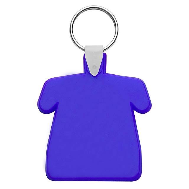 Polo přívěšek na klíče - modrá