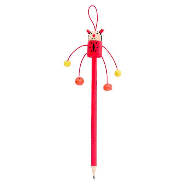 Farm tužka, beruška - červená
