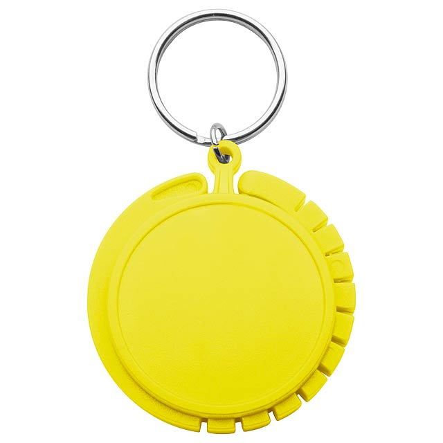 Foldy věšák na tašky - žlutá