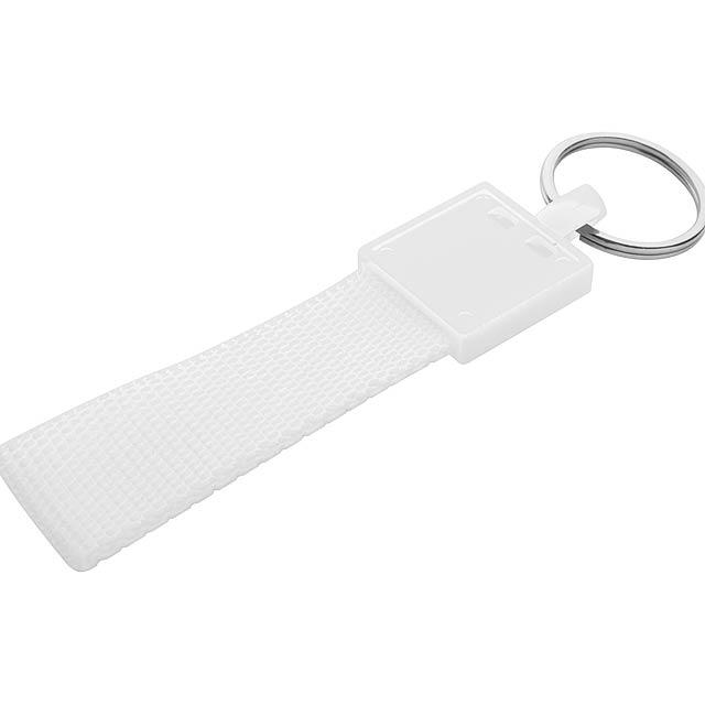 Schneller Schlüsselbund - Weiß