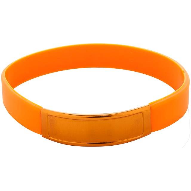 Truddy náramek - oranžová
