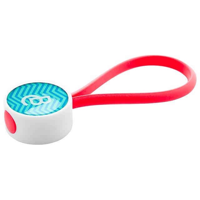 CreaKey přívěšek na klíče na zakázku - smyčka - červená