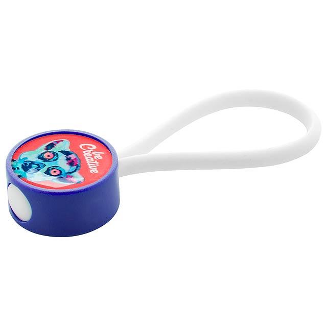 CreaKey přívěšek na klíče na zakázku - tělo - modrá