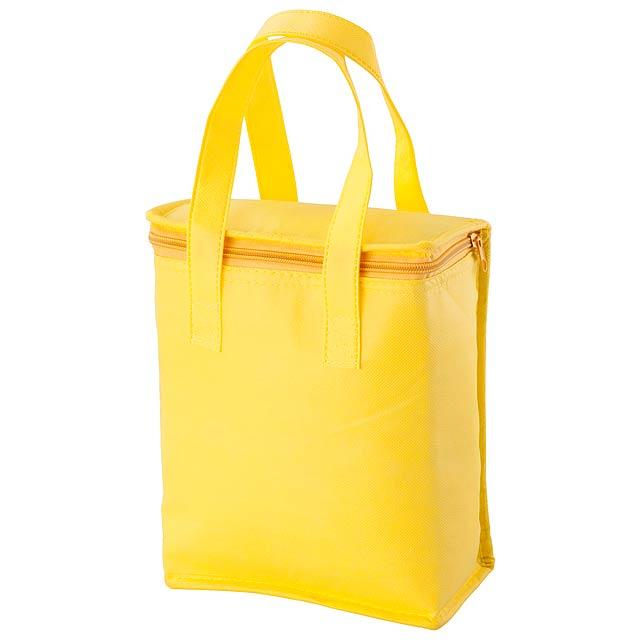 Fridrate chladící taška - žlutá