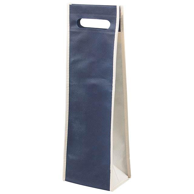 Doradillo dárková taška na víno - modrá