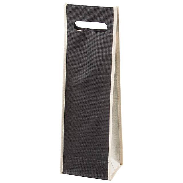 Doradillo dárková taška na víno - černá