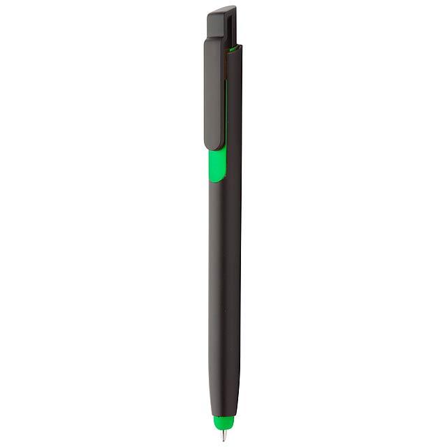 Onyx kuličkové pero - zelená