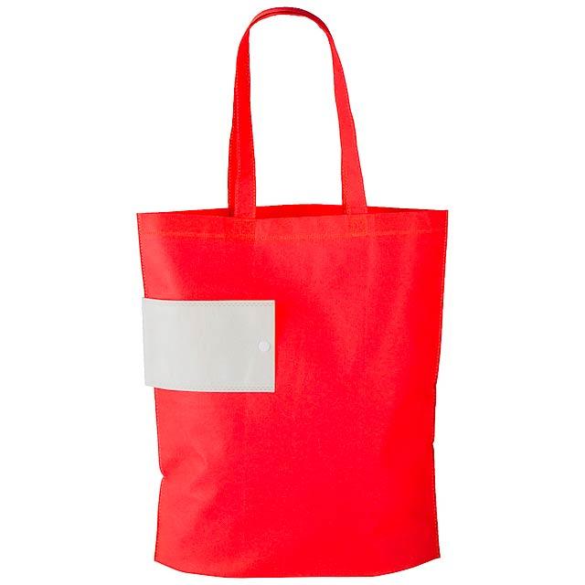 Boqueria skládací nákupní taška - červená