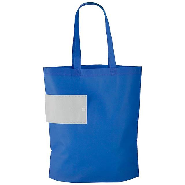 Boqueria skládací nákupní taška - modrá