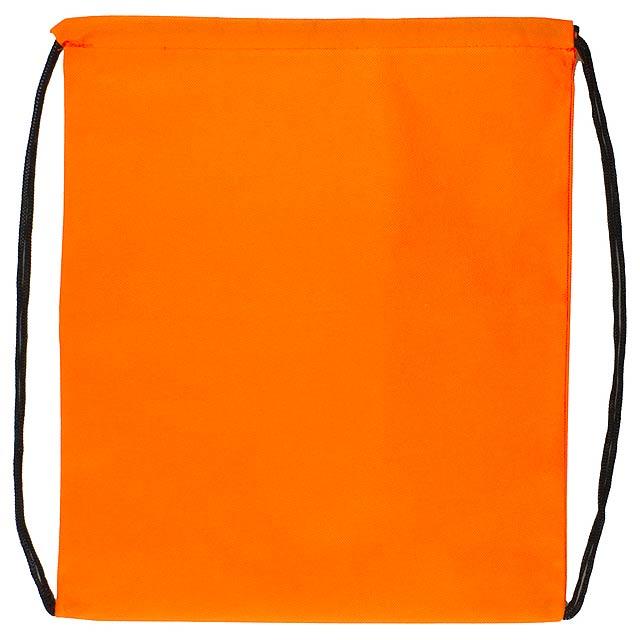 Pully vak se stahováním na šňůrku - oranžová