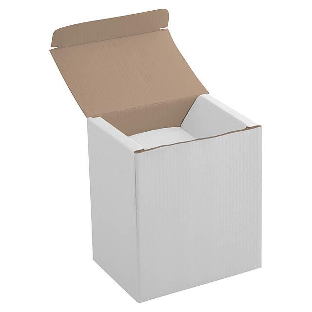 Univer krabička na hrnky - bílá