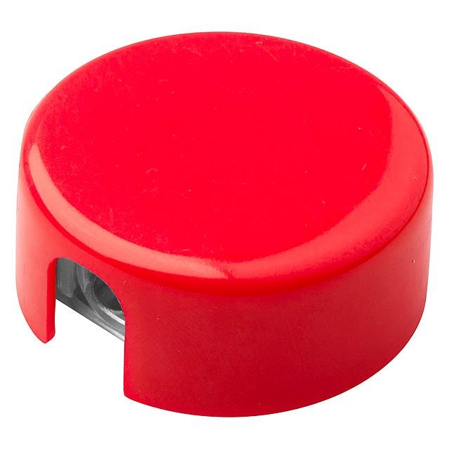 Spiked ořezávátko - červená