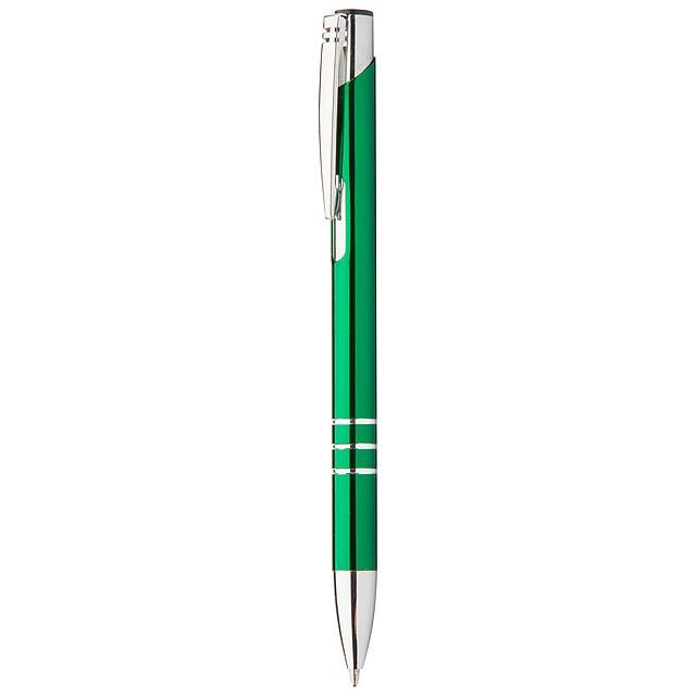 Channel kuličkové pero - zelená