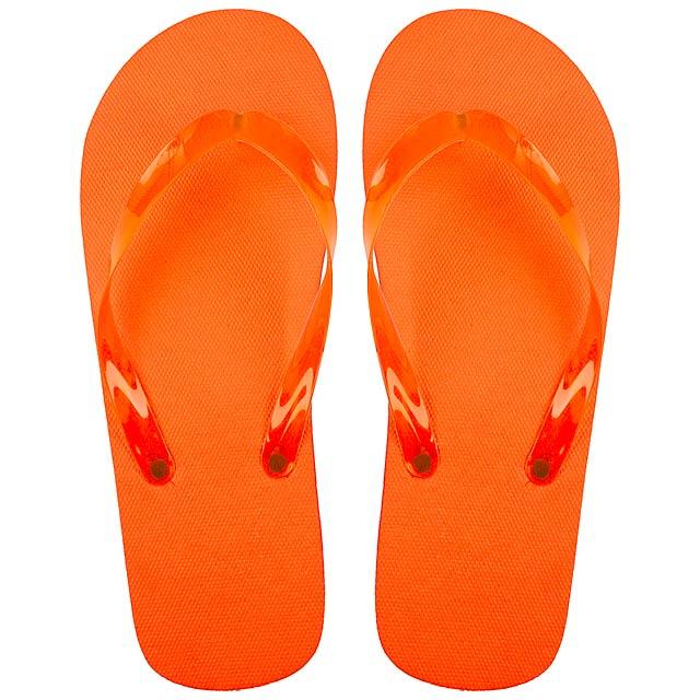 Varadero plážové žabky - oranžová