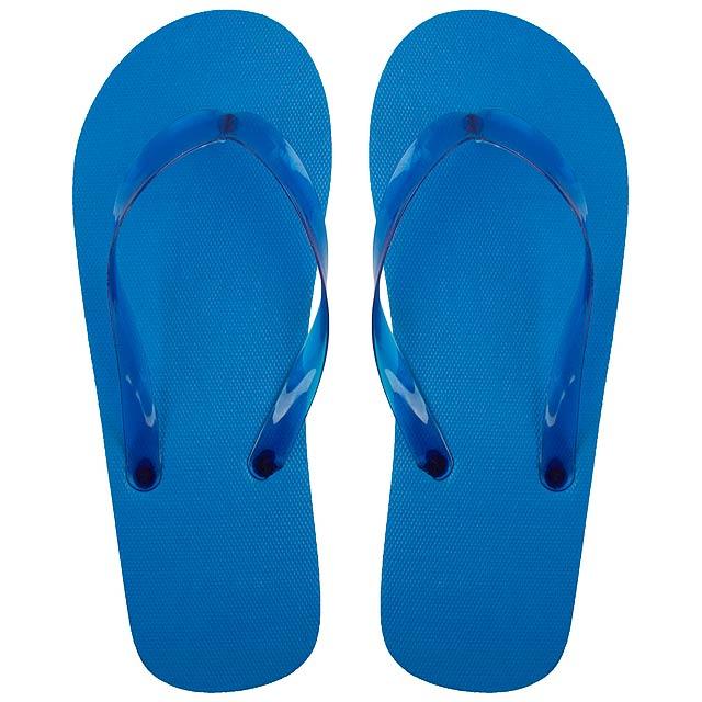 Varadero plážové žabky - modrá