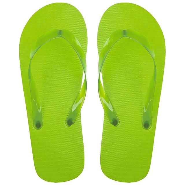 Varadero plážové žabky - zelená