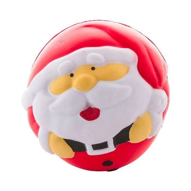 Santa Claus antistres balonek - multicolor