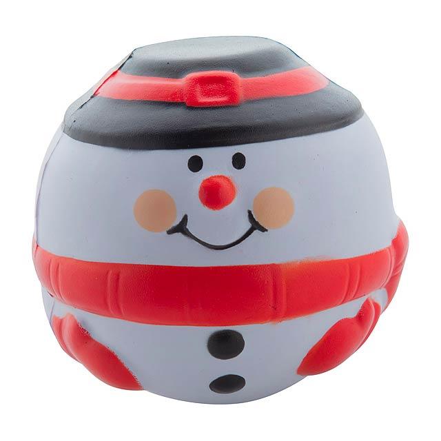 Snowman antistresový balonek - multicolor