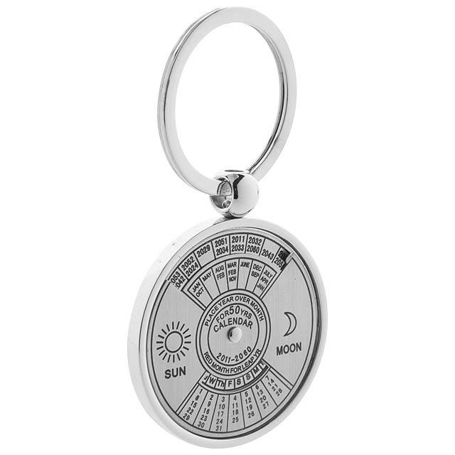 Eternity přívěšek na klíče s kalendářem - stříbrná