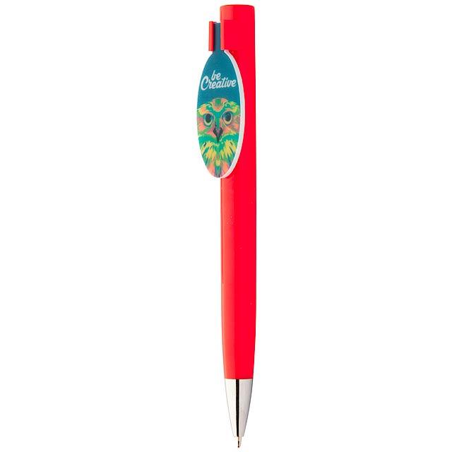 CreaClip kuličkové pero - červená