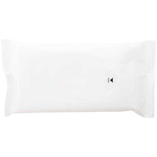Hygiene vlhké ubrousky - bílá